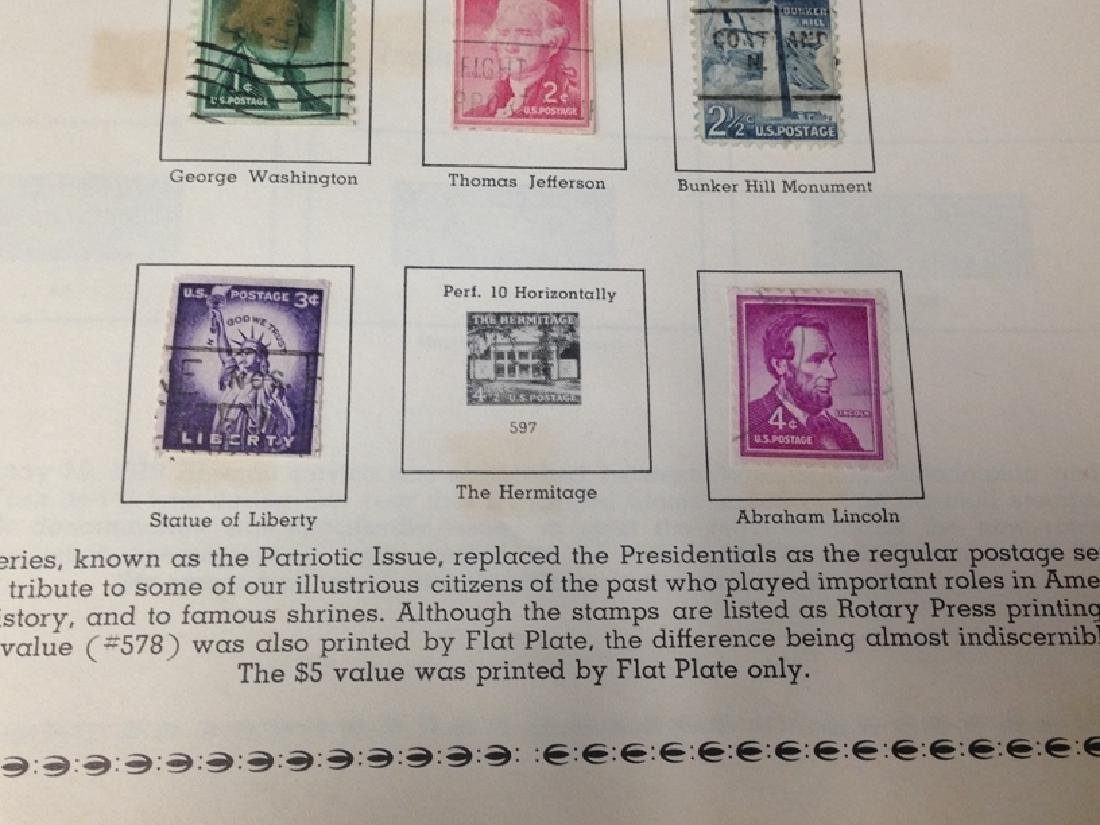 The All American Stamp Album w/Stamps. - 3