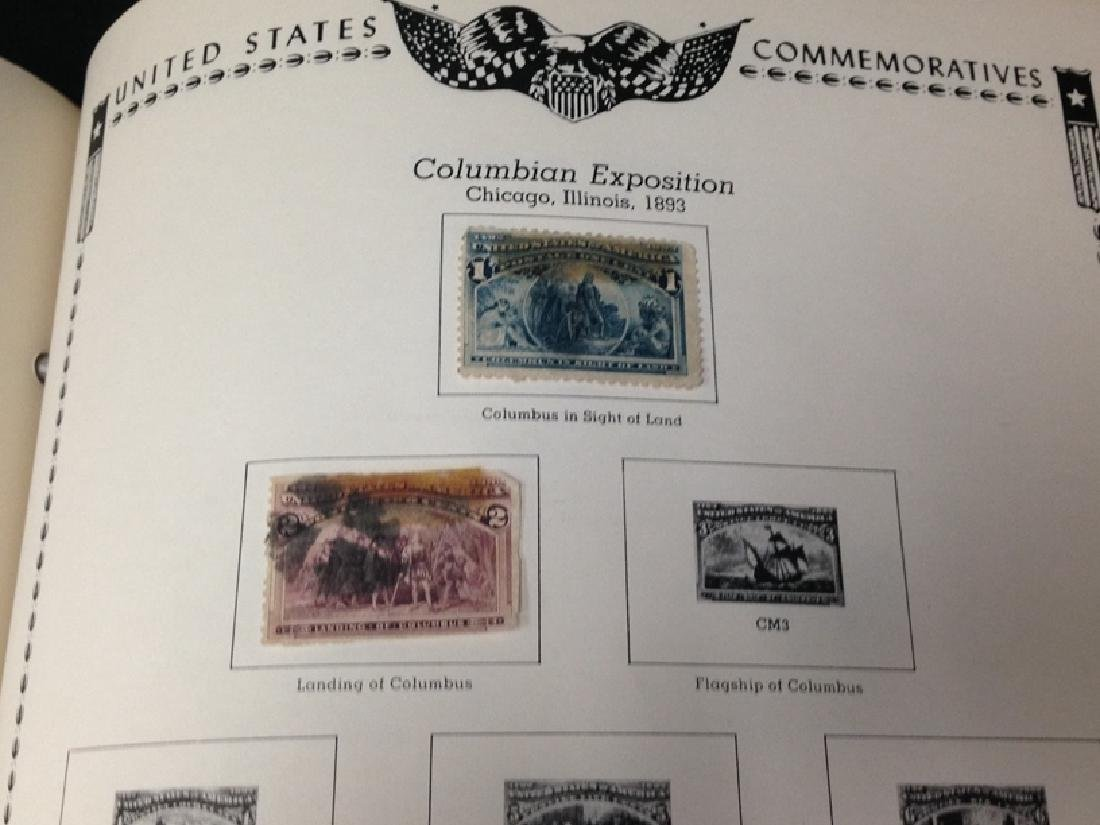The All American Stamp Album w/Stamps. - 4