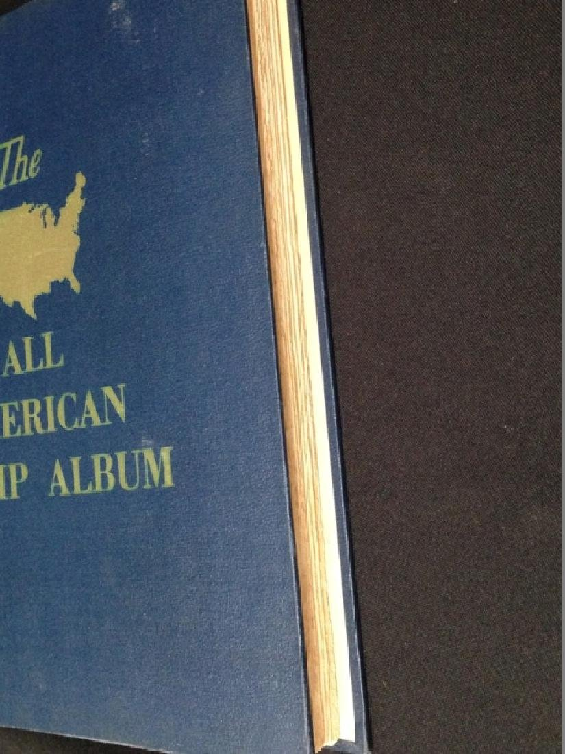 The All American Stamp Album w/Stamps. - 6