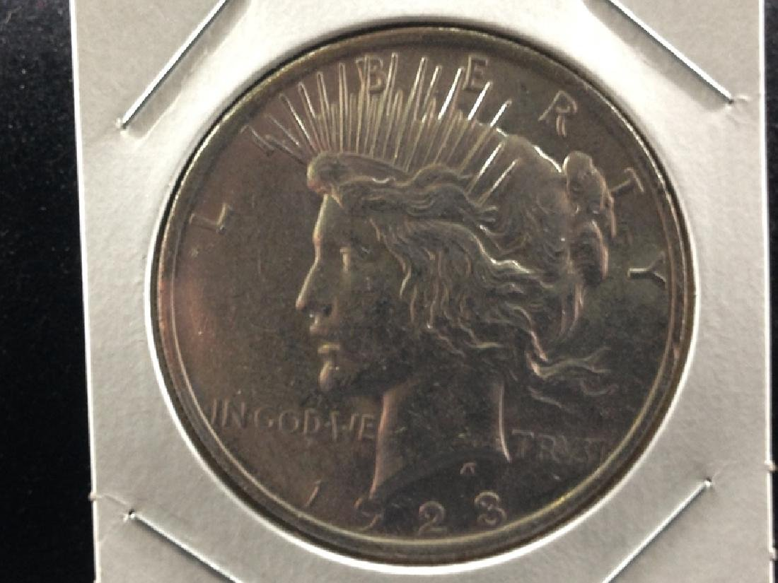 1923 P Peace Silver Dollar UNC