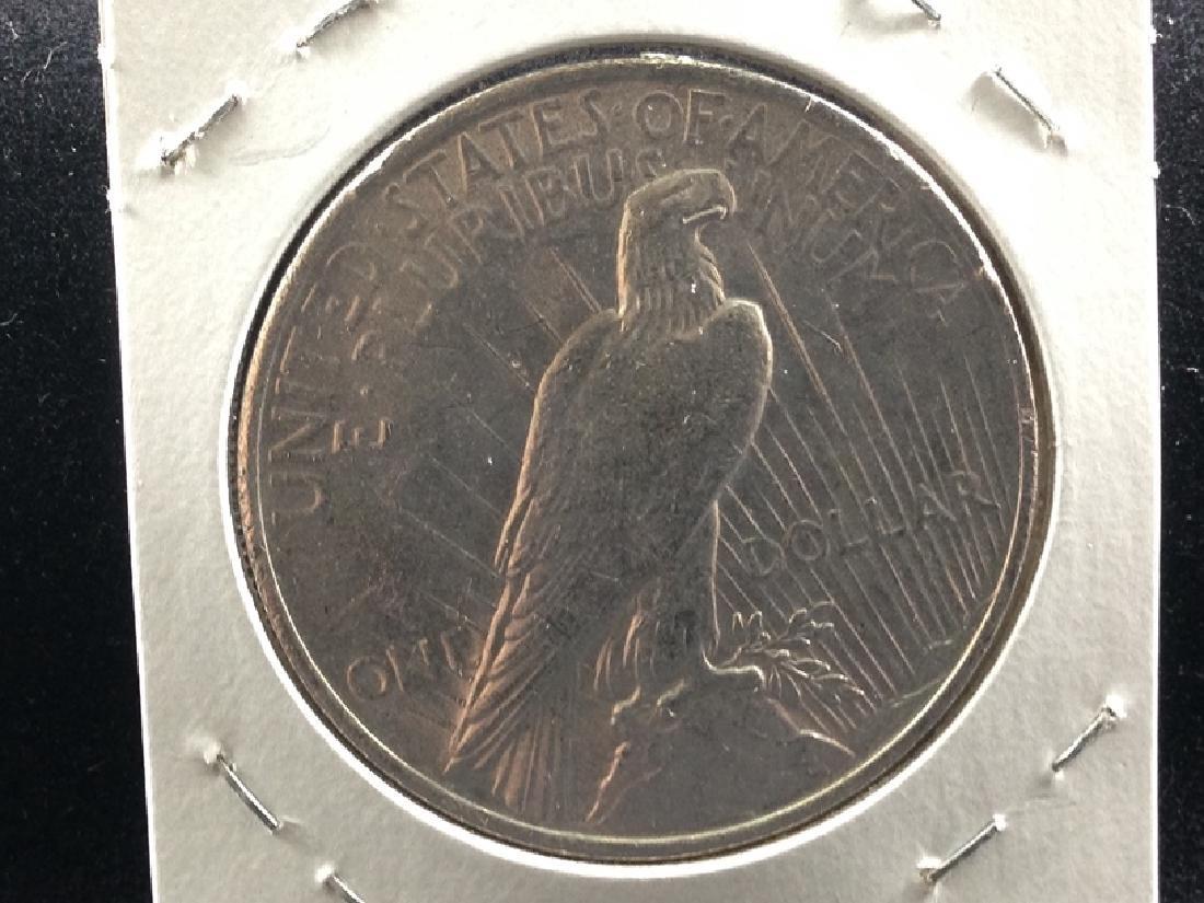 1923 P Peace Silver Dollar UNC - 2