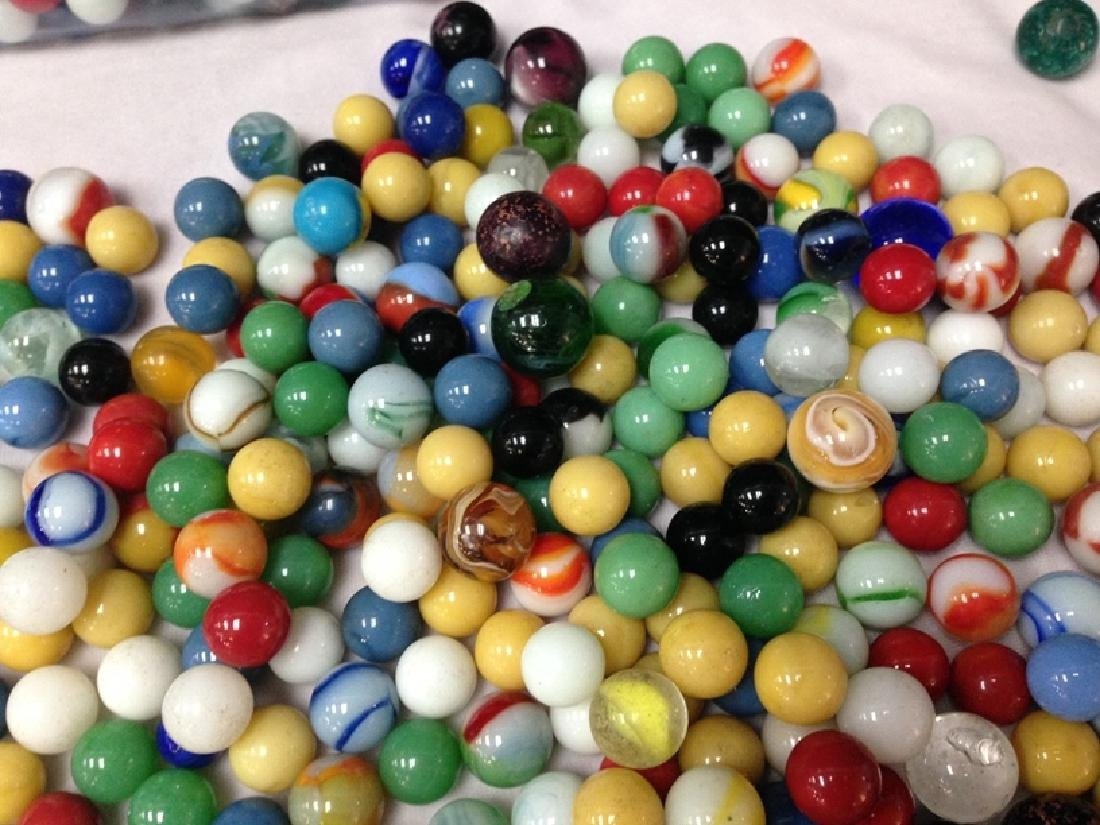 Approx. 9 LBS. of Vintage Glass Marbles. - 3