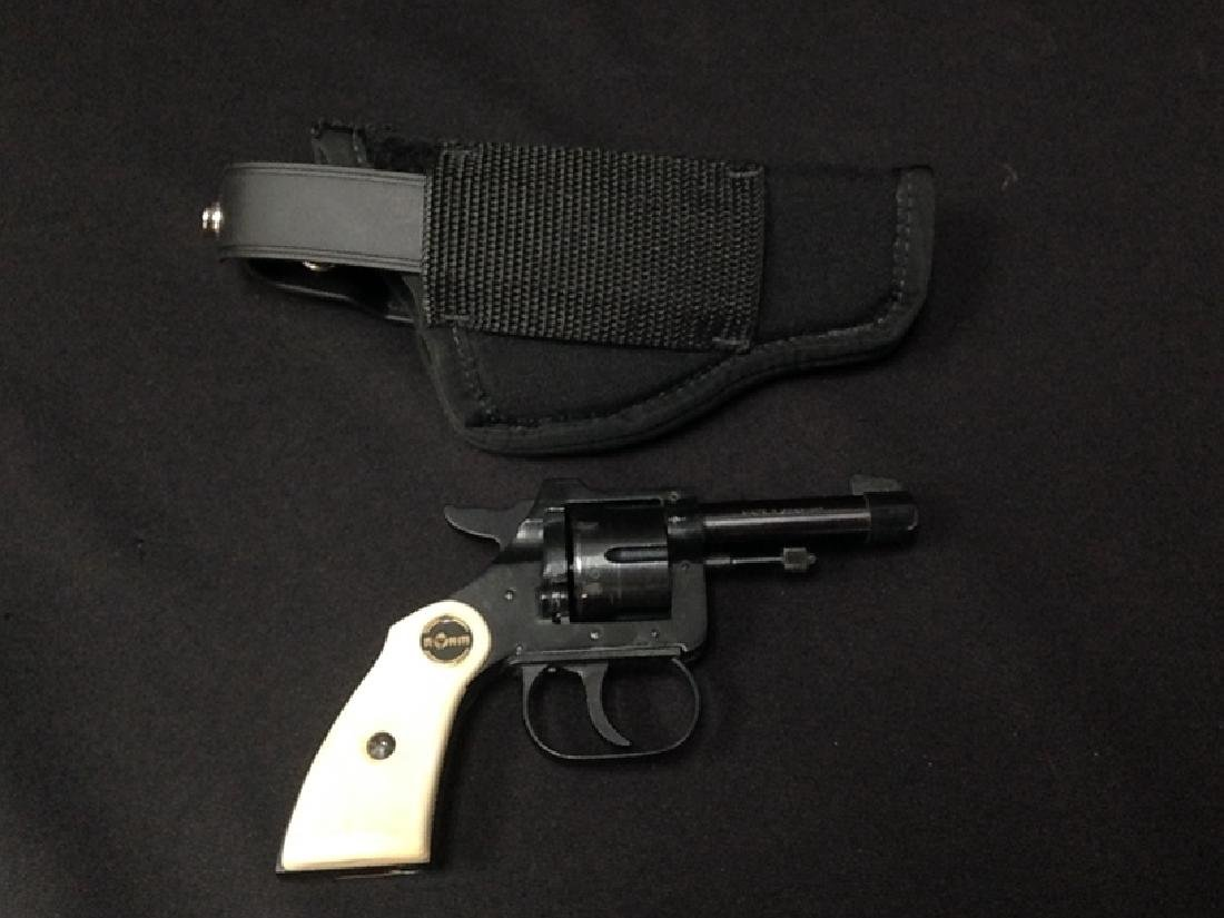 Rohm  22 Cal Short Revolver Germany w/holster
