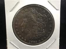 1885 Morgan Silver Dollar nicely toned UNC