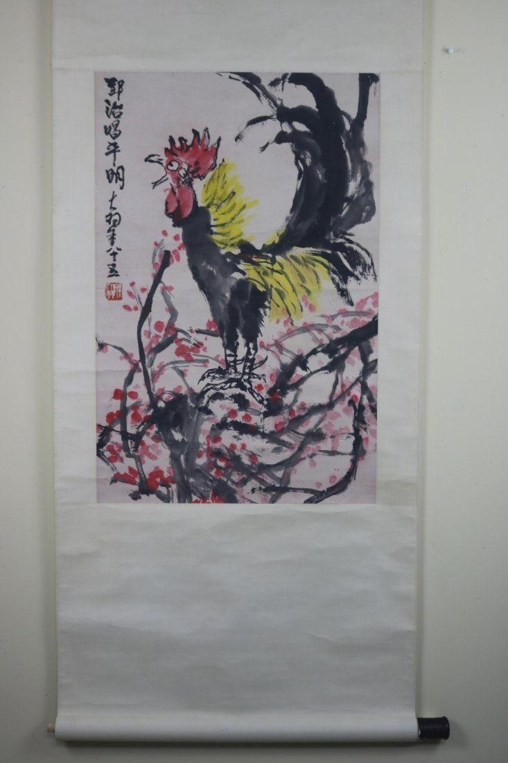 Chinese Scroll Painting