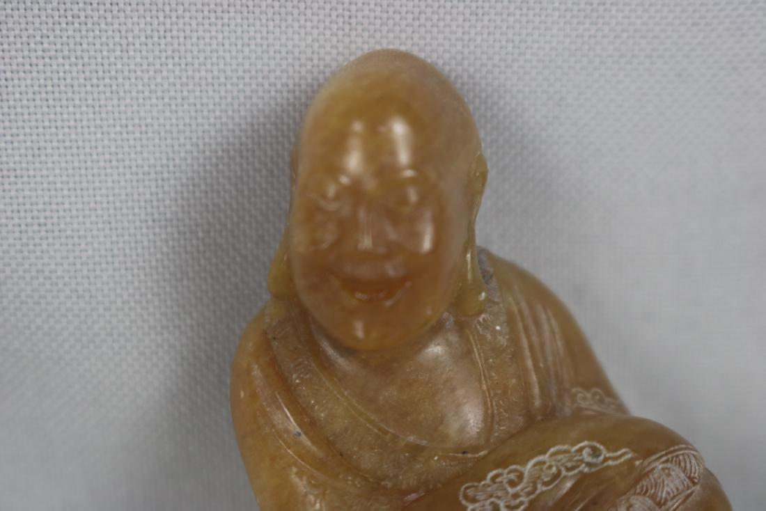 Chinese Tian Huang Stone Luo Han - 3