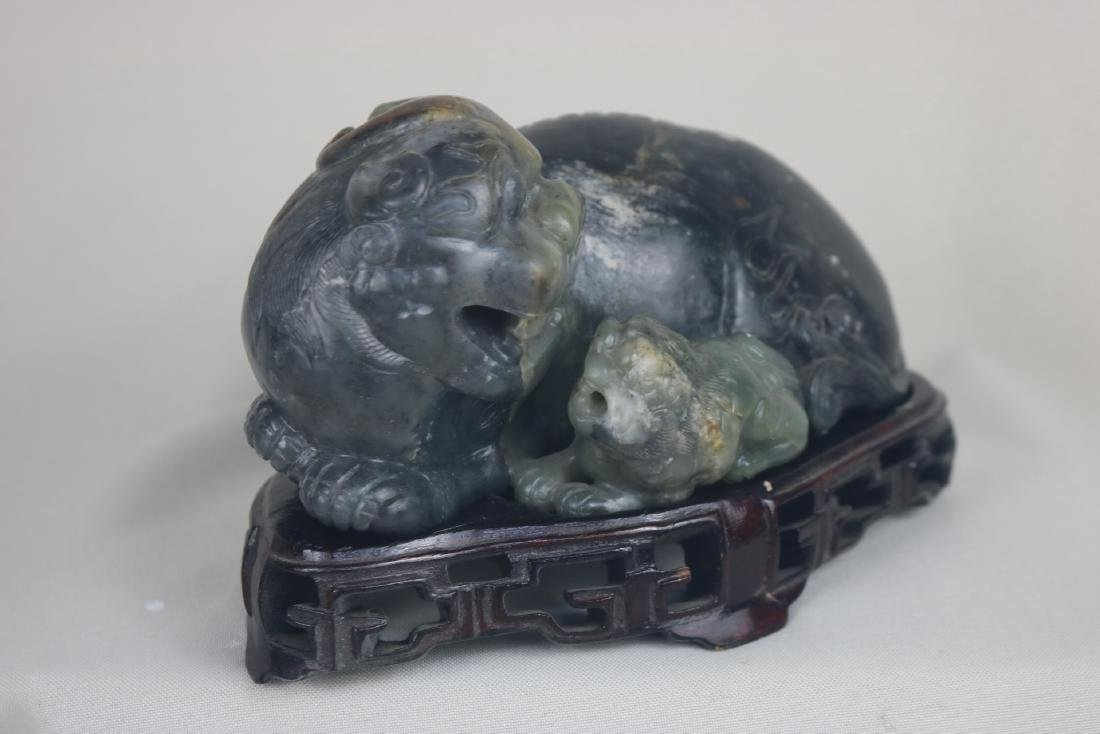 Chinese Ancient Jade Lion - 2