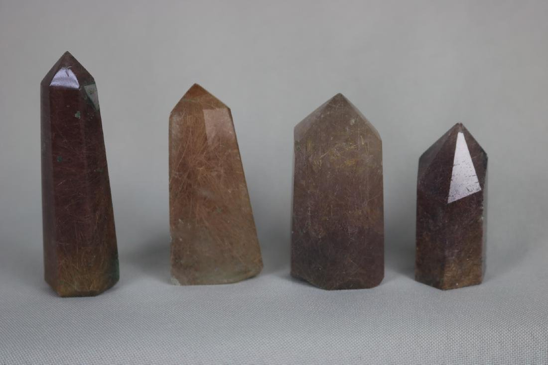 A Set of Four Crystal