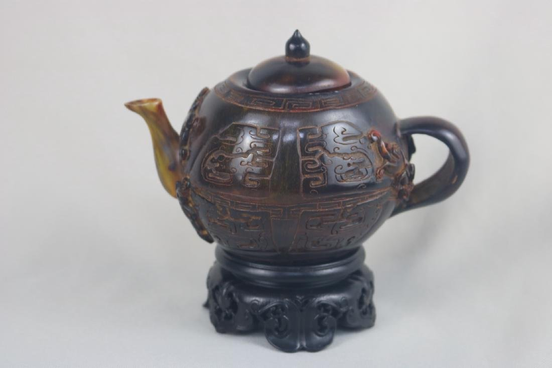 Chinese Horn Teapot