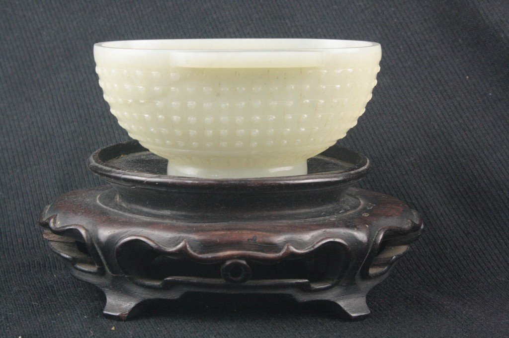Chinese White Jade Bowl