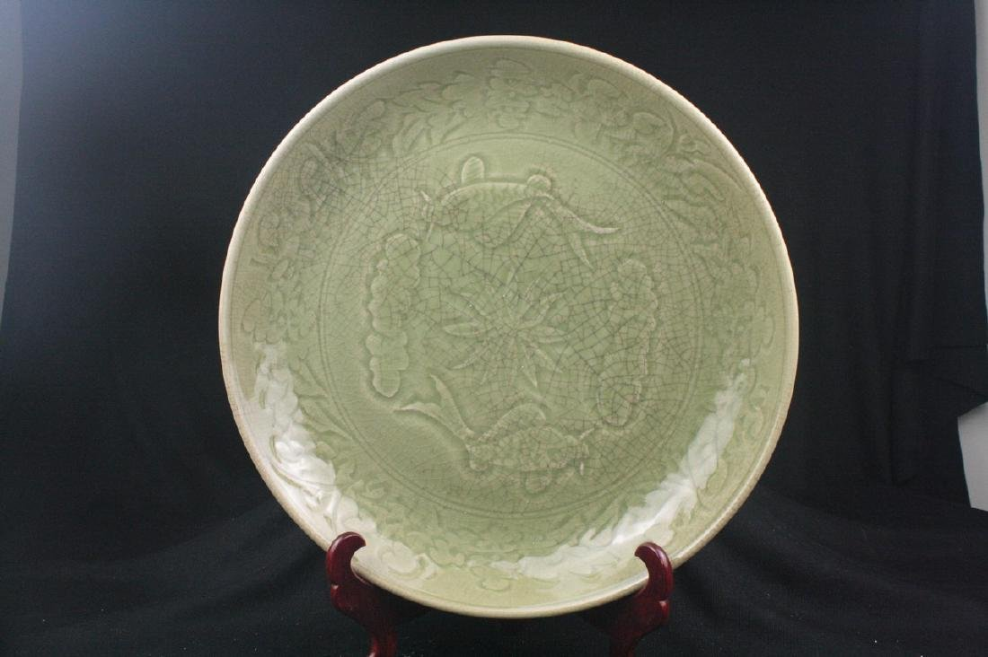 Chinese Ge Typed Porcelain Plate
