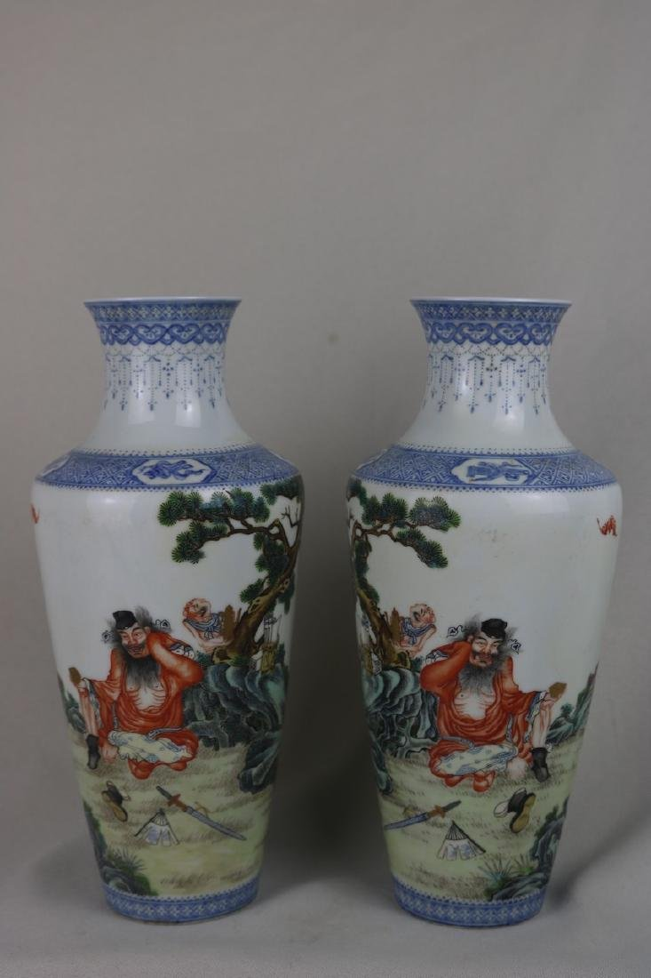 Pair of Chinese Porcelain Vase