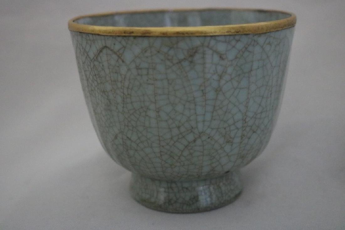 Chinese Ge Typed Porcelain Cup