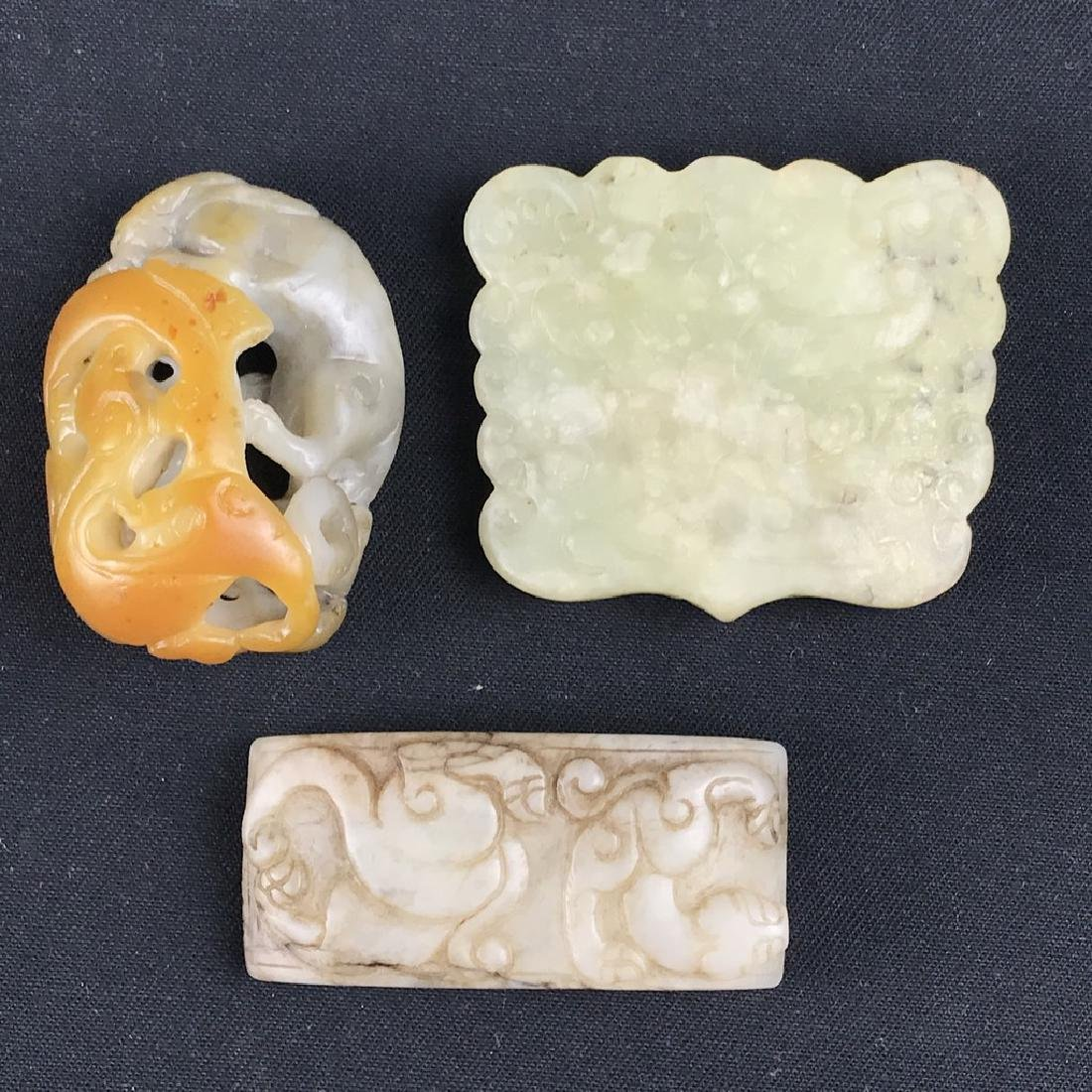 A Set of Chinese Jade