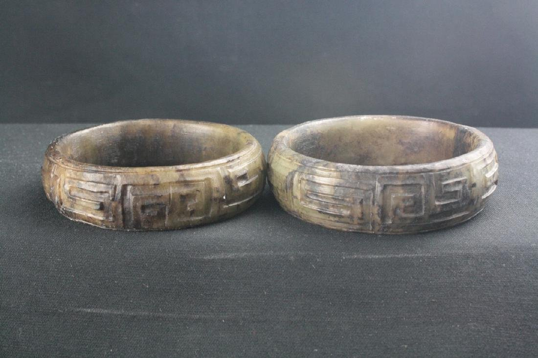 Chinese Ancient Jade Bangle