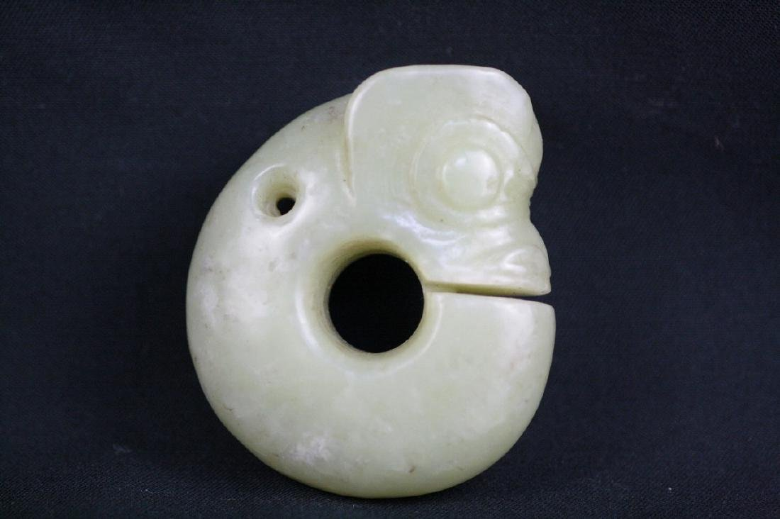 Chinese Ancient Carved Yellow Jade