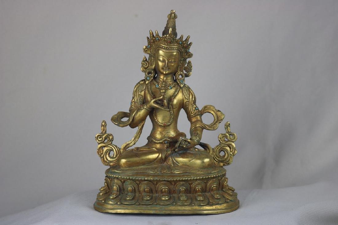 Chinese Bronze Budda