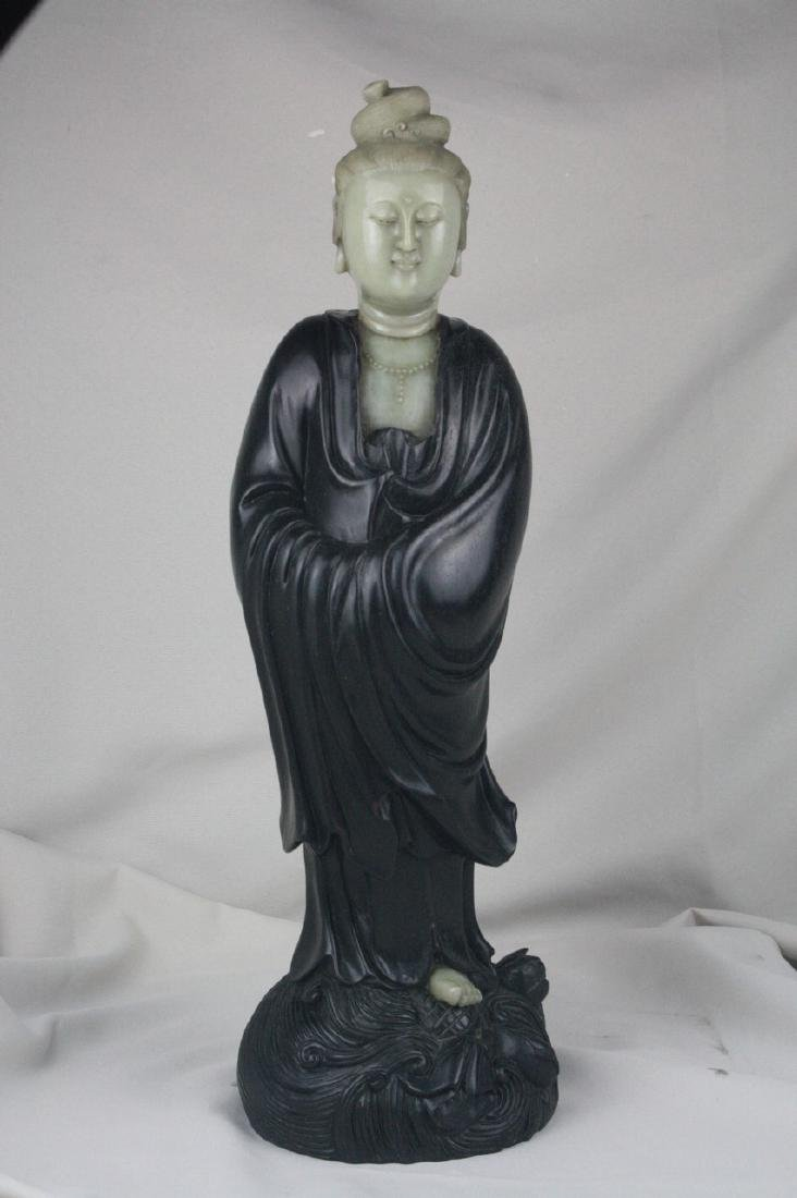 Chinese Carved Guan Yin
