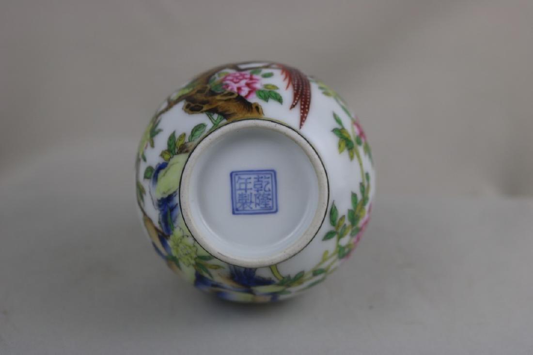 Chinese Enamel Porcalin Vase - 7