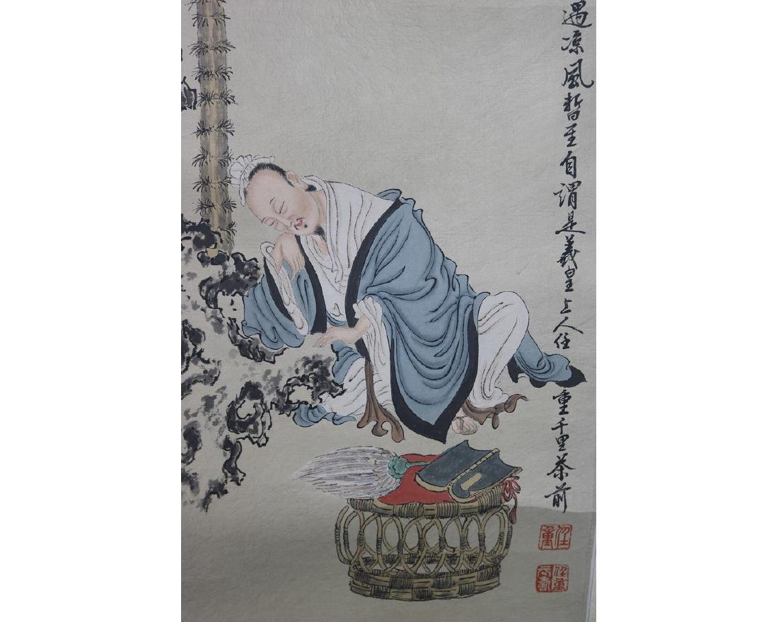 A Pair of Chinese Painting - 2