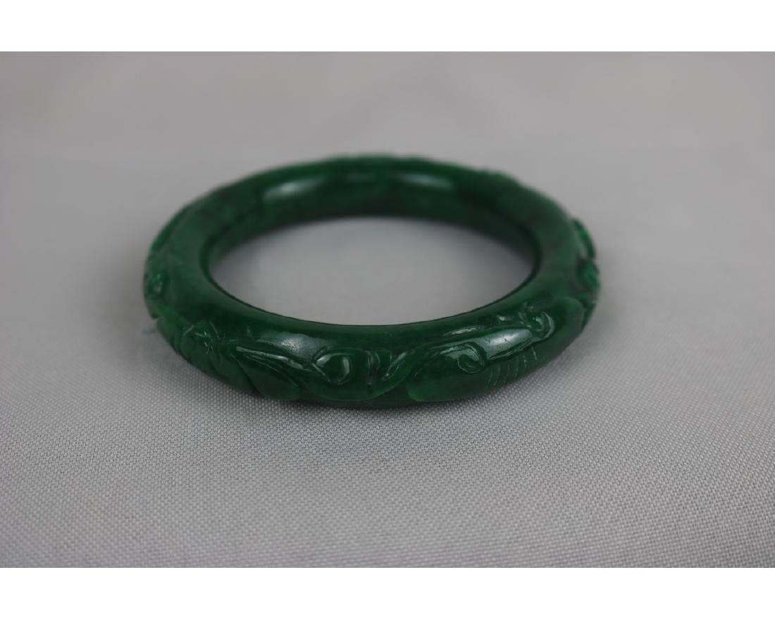 Chinese Jadeite Bangle - 2