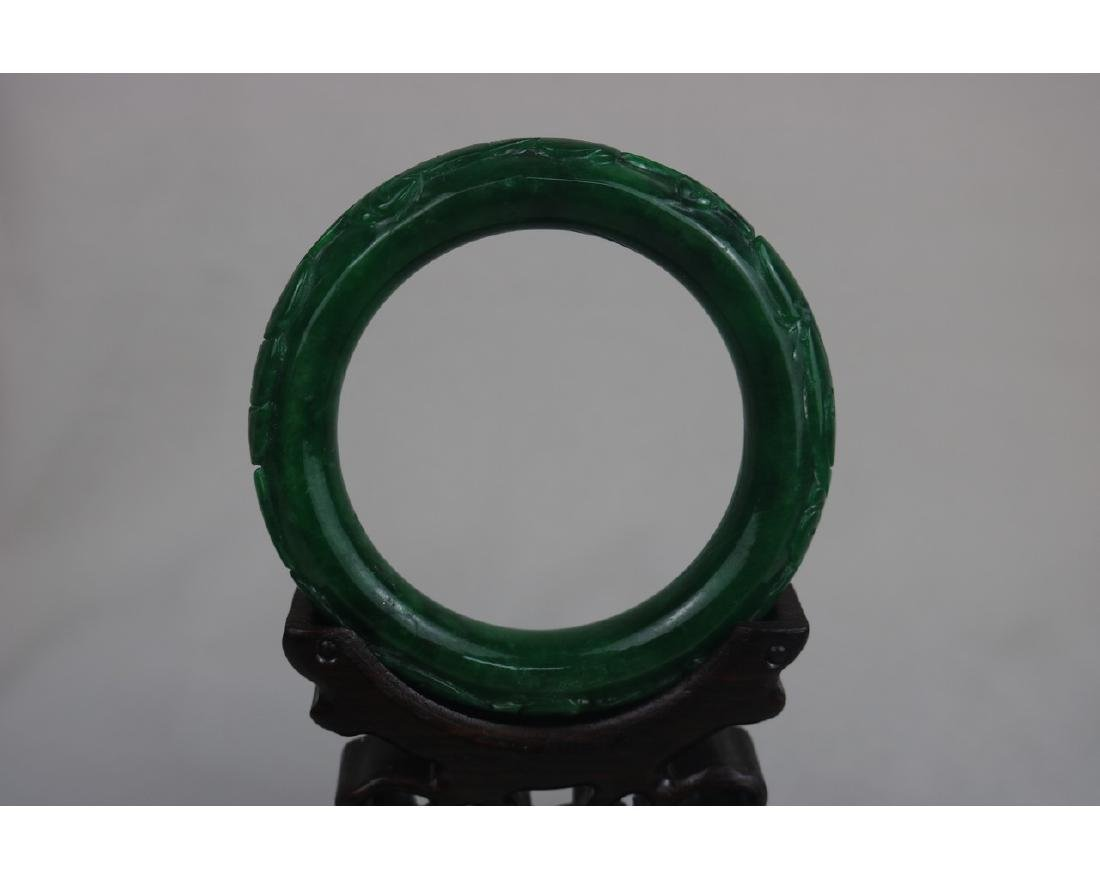 Chinese Jadeite Bangle - 3