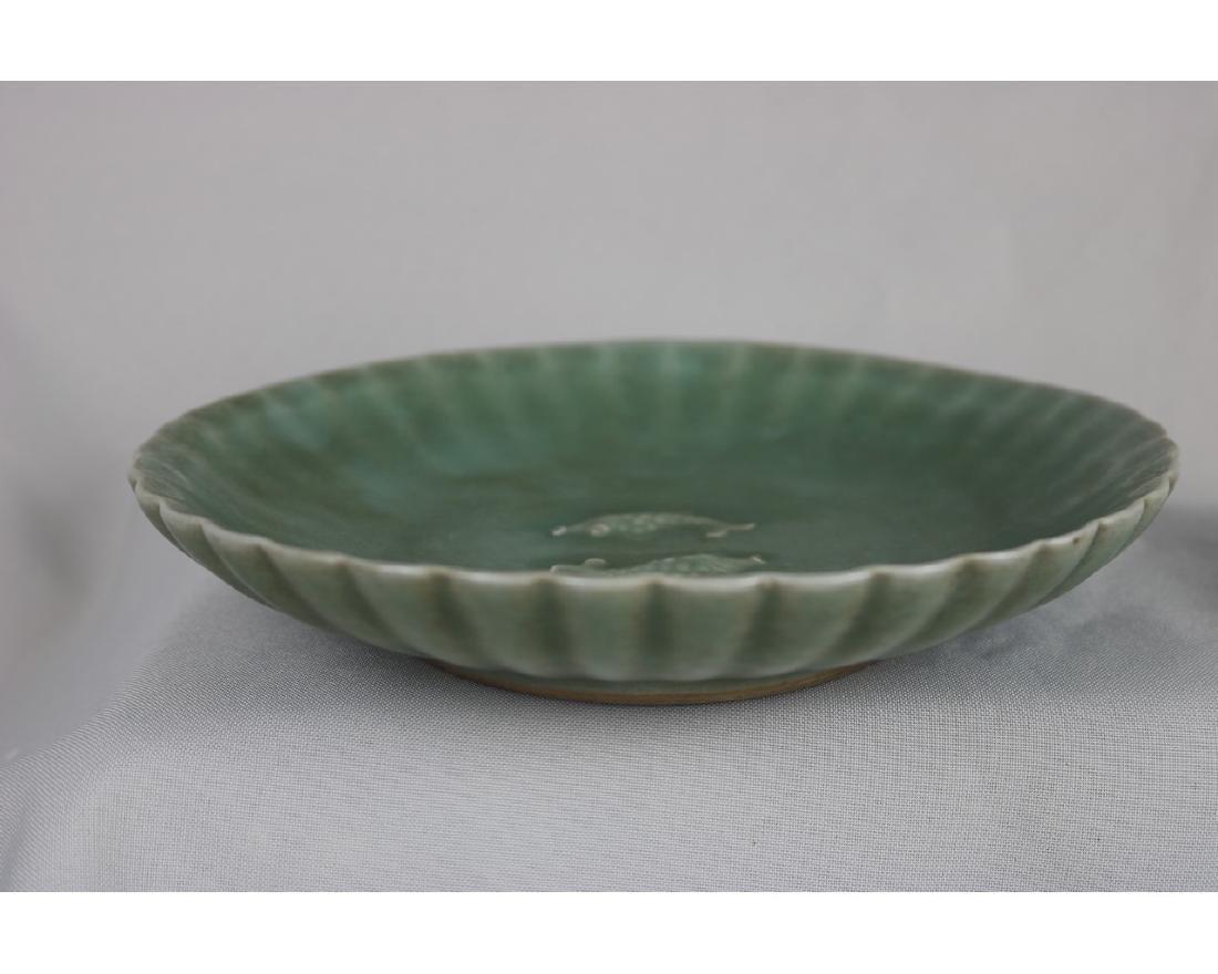 Chinese Celadon Glazed Porcelain plate