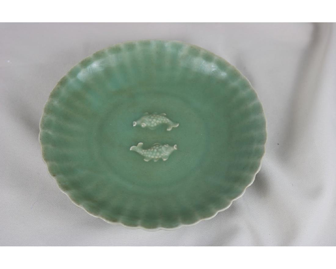 Chinese Celadon Glazed Porcelain plate - 2