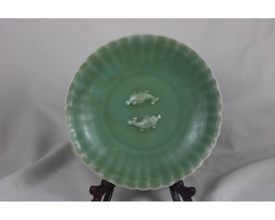 Chinese Celadon Glazed Porcelain plate - 4