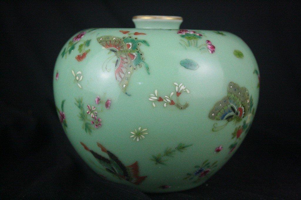 Chinese Famille Rose Porclain Vase