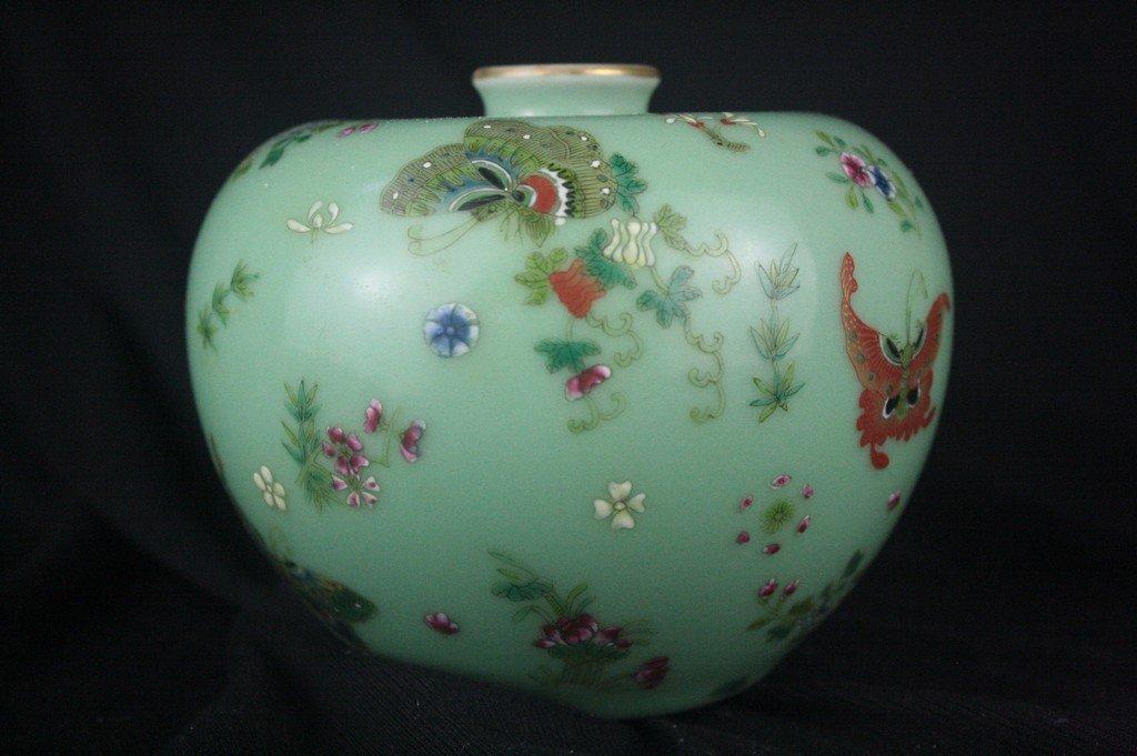 Chinese Famille Rose Porclain Vase - 2