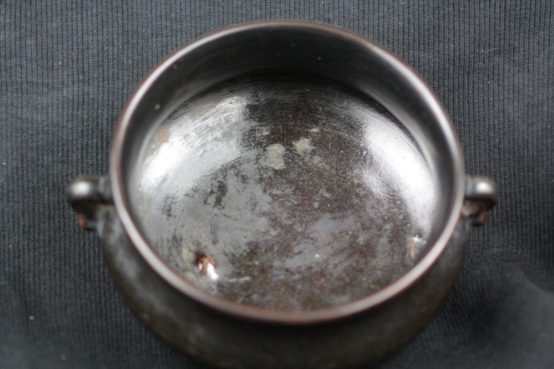 Chinese Glazed Porcelain Censer - 2