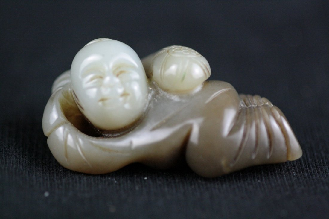 Chinese ancient Jade Figure