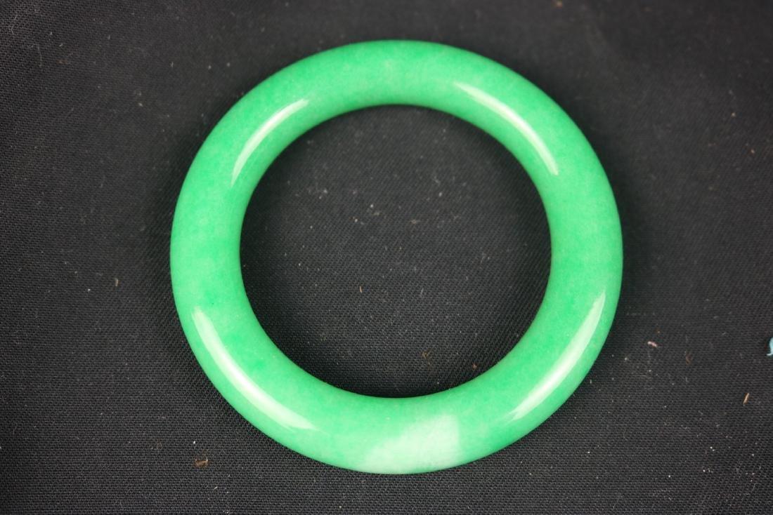 Chinese Jade Bangle - 2