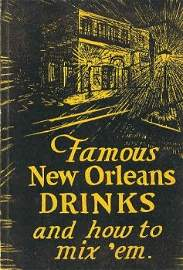 360233: Famous New Orleans Drinks vintage cookbook