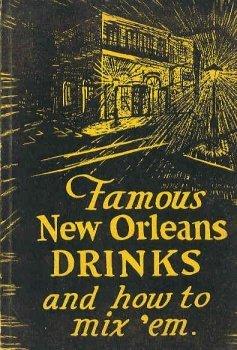 360233: Famous New Orleans Drinks vintage cookbook