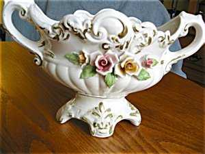 363530 Vintage Comacchio Capodimonte Vase