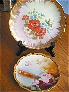 363536: Pickard Hand Painted Limoges Plate