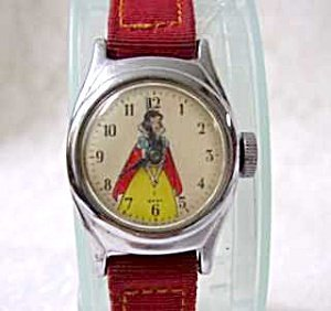 365946: Vintage Original Snow White Childs Watch