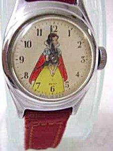 365946: Vintage Original Snow White Childs Watch - 2