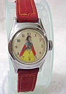365946: Vintage Original Snow White Childs Watch - 3