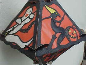 373410: Old Halloween Hanging Lantern