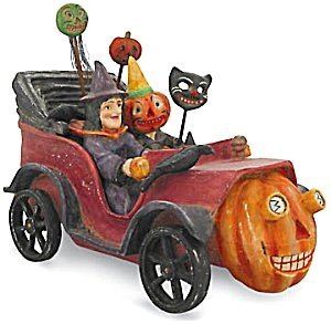 373418: Pumpkin Mobile w Witch and Pumpkin