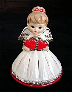 373421: Lefton Valentine Angel Music Box