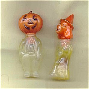 373422: Vintage Halloween Candy Containers