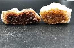 Citrine Rock Crystal Natural Collectible Mineral