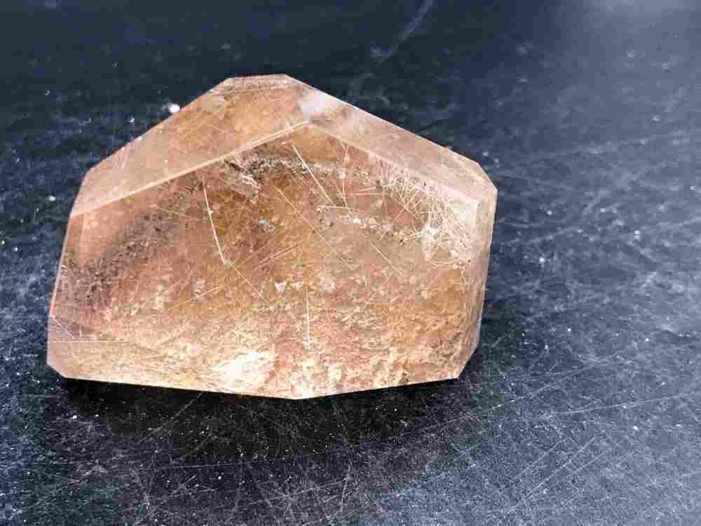 Quartz, Rutile, Rock, Crystal, Natural, Decor,