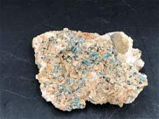 Malachite Rock Crystal Natural Collectible
