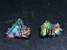 Bismuth, Rock, Crystal, Natural, Collectible, Mineral,