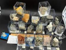 Quartz Calcite Barite Rock Crystal Natural
